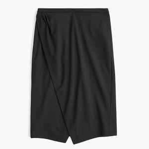 NWT Asymmetrical pencil skirt in everyday wool 4
